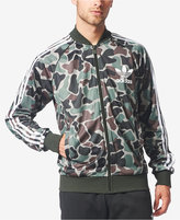 adidas Men's Camo-Print Superstar Track Jacket