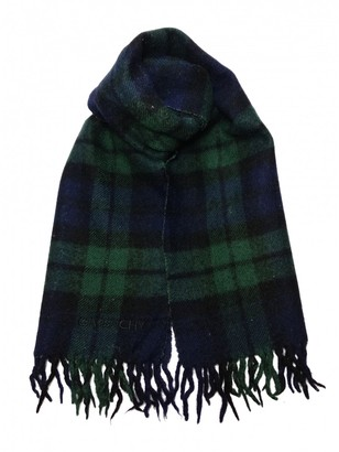 Givenchy Green Wool Scarves