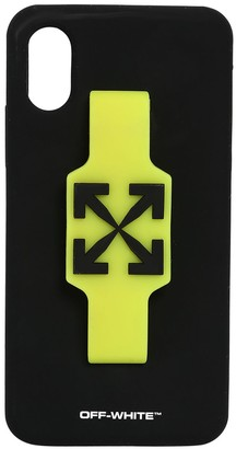 Off-White Off White LOGO IPHONE X/XS COVER W/ FINGER GRIP
