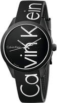 Calvin Klein Men's Color Black Silicone Strap Watch 40mm K5E51TBZ