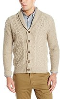 Dockers Donegal Ls Lattice Cable Shawl Cardigan