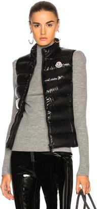 Moncler Ghany Gilet Vest in Black | FWRD