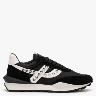 Ash Spider Studs Black & Off White Trainers