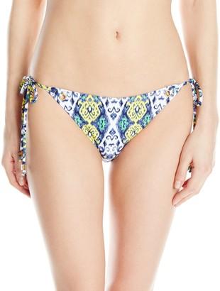 Shoshanna Women's Turkish Ikat Grommet String Bikini Bottom X-Small