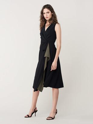Diane von Furstenberg Addison A-Line Midi Dress