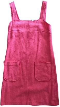 Masscob Pink Cotton - elasthane Dress for Women