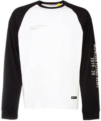 MONCLER GENIUS Moncler X Fragment Hiroshi Fujiwara Long-Sleeved T-Shirt