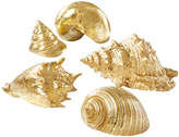Twos Company Coquillage D' Shell Figurines (Set of 6)
