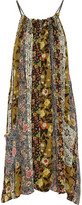 Isabel Marant Abilay Printed Silk-Georgette Dress
