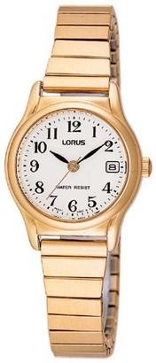 Lorus Women's Quartz Watch Classic RJ206AX9 with Metal Strap