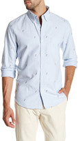 J.Crew Factory J. Crew Factory Slim Fit Embroidered Oxford Shirt