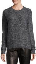 Vince Mohair-Blend Crewneck Sweater, Ash
