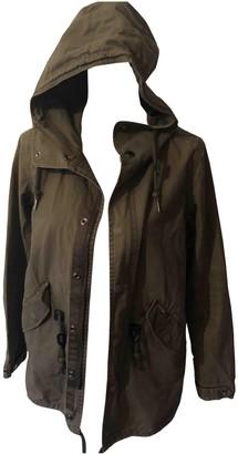 Carhartt Khaki Cotton Coats
