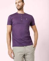 SHORTAY Henley neck Tshirt