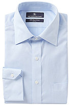 Hart Schaffner Marx Non-Iron Regular Classic-Fit Spread-Collar Solid Dress Shirt