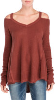 Free People Moonshine V-Neck Sweater