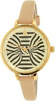 Kate Spade Women's KSW1031 Metro Analog Display Analog Quartz Beige Watch