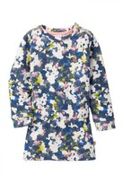 Babyface Floral Sweater Dress (Baby, Toddler, & Little Girls)