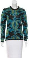 Proenza Schouler Abstract Pattern Silk Top