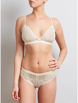 Somerset by Alice Temperley Sylvie Bridal Lace Triangle Bra And Brief Set, Ivory