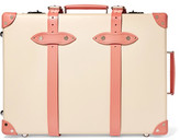 Globe-trotter Centenary 21 Leather-trimmed Fiberboard Travel Trolley - Cream