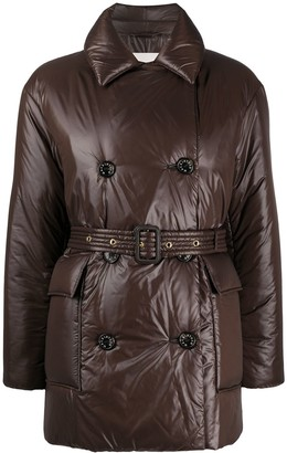 MACKINTOSH Double-Breasted Short Trench Coat