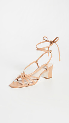 Loeffler Randall Libby Knotted Wrap Heel Sandals