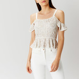 Coast Annabelle Sequin Top