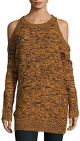 The Fifth Label Women's Abstraction Cold-Shoulder Pullover