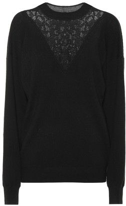 See by Chloe Wool and cotton-blend sweater