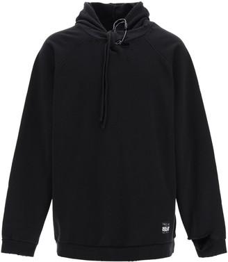 Raf Simons Oversize Sweatshirt With Safety Pin