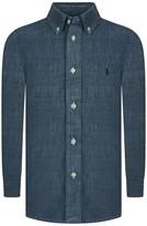 Ralph Lauren Blue Chambray Shirt