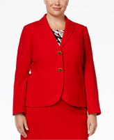 Calvin Klein Plus Size Two-Button Jacket