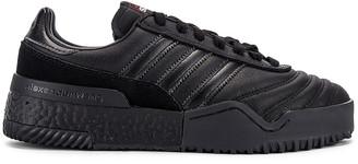 Adidas Originals By Alexander Wang AW Bball Soccer Sneaker in Core Black | FWRD