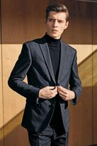 Next Blue Check Slim Fit Suit: Trousers