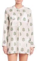 Roberta Roller Rabbit Amelie Gold Button Cotton Tunic