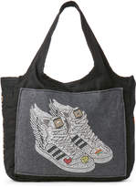 Butter Shoes Black Sneaker Canvas Tote