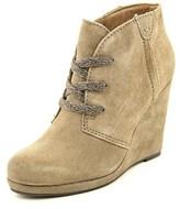 Dolce Vita Gael Open Toe Leather Wedge Heel.