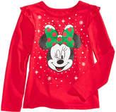 Disney Disney's Minnie Mouse Long-Sleeve T-Shirt, Little Girls (4-6X)