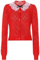 Miu Miu Cashmere and silk cardigan