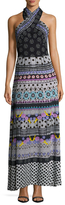 Temperley London Cherise Halter Neck Maxi Dress