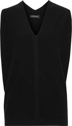 Narciso Rodriguez Brushed Wool And Cashmere-blend Vest