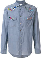 Paul Smith feather embroidered shirt