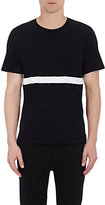Rag & Bone Men's Striped Cotton T-Shirt-BLACK