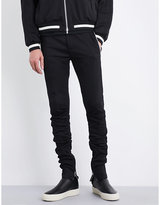Fear Of God Fifth Collection Striped-detail Slim-fit Jersey Jogging Bottoms