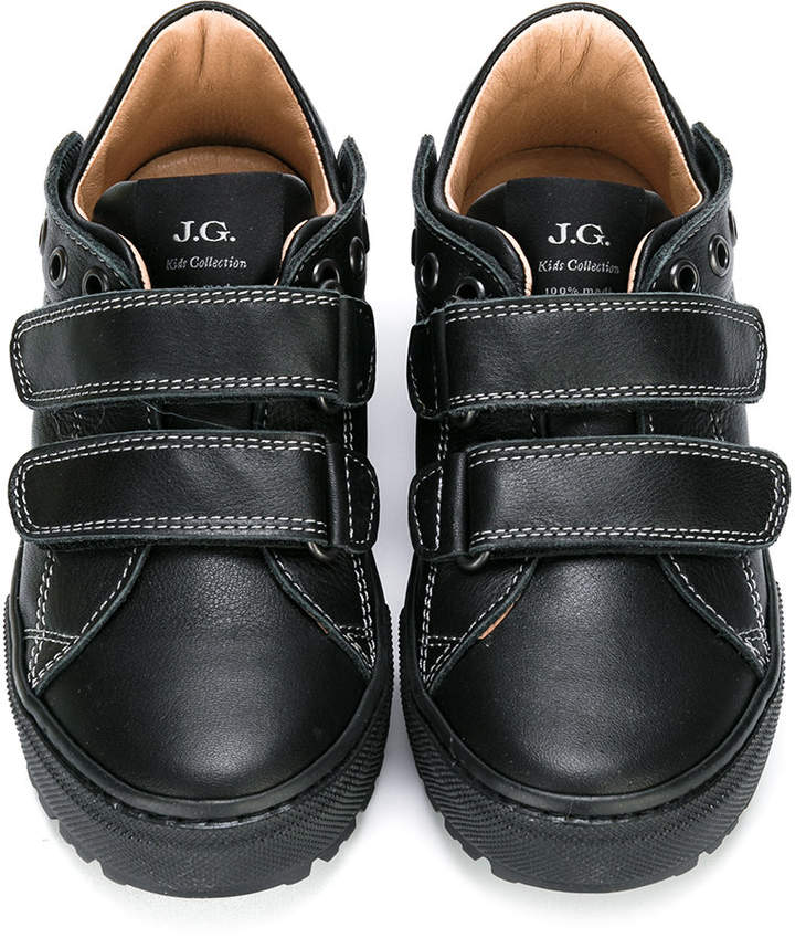 John Galliano touch fastening sneakers