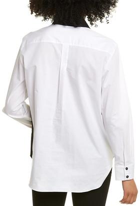 Piazza Sempione Camicia Wool-Blend Shirt