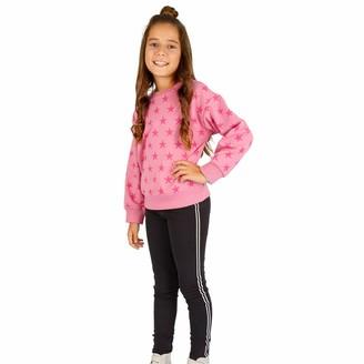 Top Top Girl's enegrote Leggings Black (Negro 960) 140 (Size: 9-10)