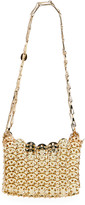 Paco Rabanne Iconic Mini Brass Link Chain Shoulder Bag