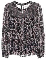 Velvet Jewel printed top